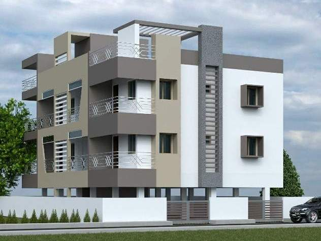 1150 Sqft, 2 BHK Apartment in Ondipudur